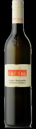 Gelber Muskateller Südsteiermark DAC 2019 / Gründl