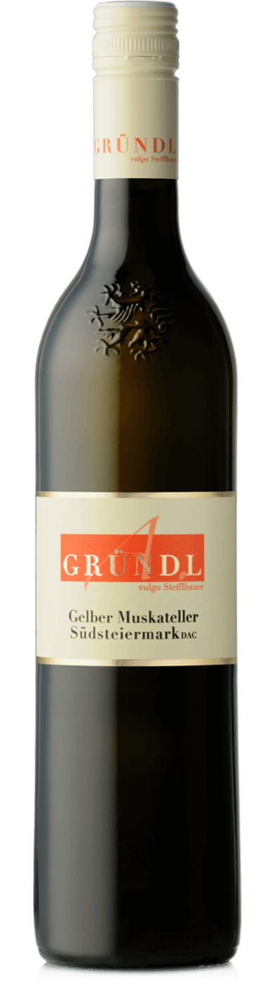 Gelber Muskateller Südsteiermark DAC 2018 / Gründl