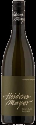 Pinot Blanc Barrique 2019 / Heiderer-Mayer