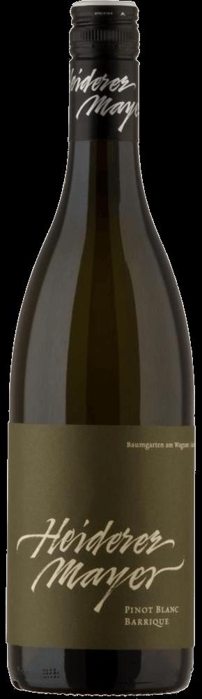 Pinot Blanc Barrique 2017 / Heiderer-Mayer