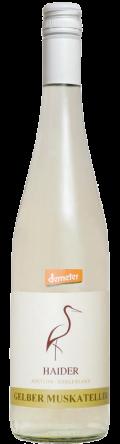 Gelber Muskateller Demeter 2017 / Biodyn Weinhof HAIDER