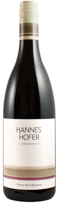 Pinot Noir Reserve 2016 / Hannes Hofer