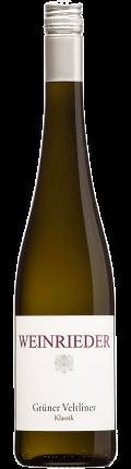 Grüner Veltliner Weinviertel DAC 2018 / Weinrieder