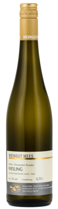 Riesling trocken Qualitätswein QbA Kreuznacher Paradies Weißwein 2018 / Mees