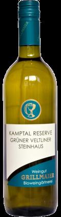 Grüner Veltliner Kamptal Reserve dac Ried Steinhaus 2018 / Grillmaier