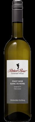 Spätburgunder Pinot blanc de Noirs 2018 / Roter Bur Glottertäler Winzer