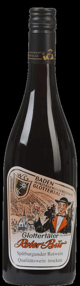 Blauer Spätburgunder Qualitätswein 2018 / Roter Bur Glottertäler Winzer
