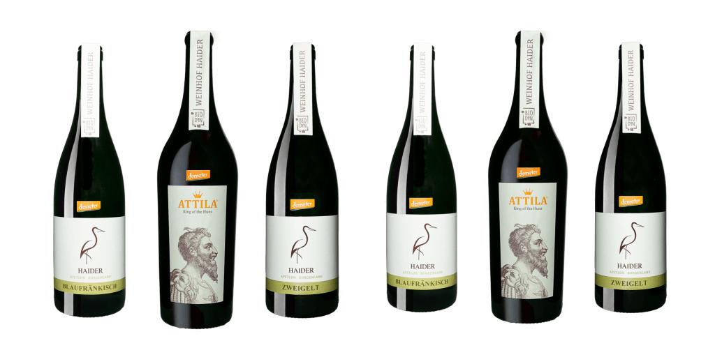 Rotweinpaket NEU   / Biodyn Weinhof HAIDER