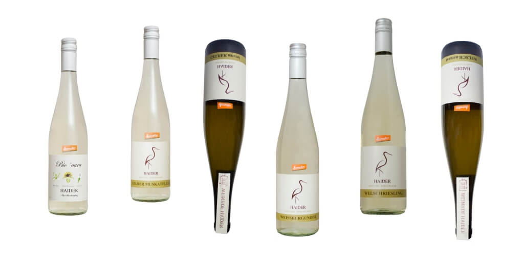 Biodynamische Weissweine klassisch und natural   / Biodyn Weinhof HAIDER