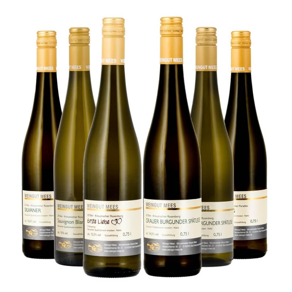 Probierpaket Weißwein trocken   / Mees