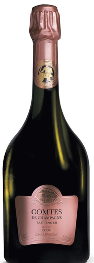 Comtes de Champagne Rosé 2007 / Taittinger