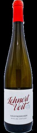 Riesling Goldtröpfchen Spätlese 2015 / Weingut Lehnert-Veit GbR