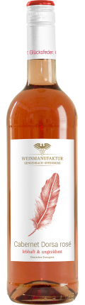 Cabernet Dorsa Glücksfeder Cabernet Dorsa Rosé 2017 / Weinmanufaktur Gengenbach-Offenburg