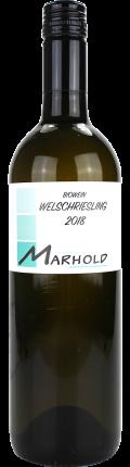 Welschriesling Biowein 2018 / Marhold