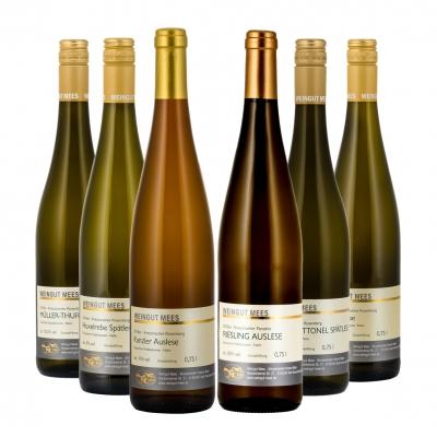 Probierpaket Weißwein lieblich / edelüß   / Mees