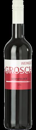 Dornfelder Qualitätswein fruchtsüß 2019 / Grosch