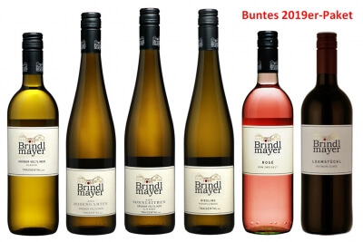 Buntes 2019er Paket - 4xTraisental DAC, Rosé und Rot   / Brindlmayer
