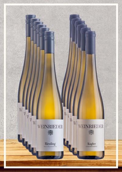 12x WEINRIEDER Lagenweine    / Weinrieder