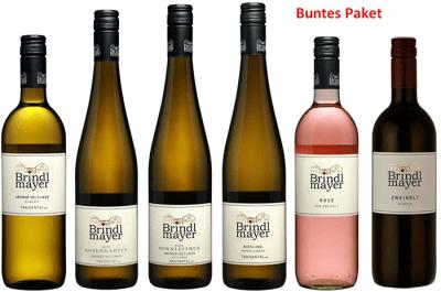 Buntes Paket - 4xTraisental DAC 2020, Rosé 2020 und Rot   / Brindlmayer