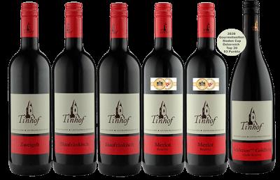 Rotwein Probierpaket vom Tinhof   / Tinhof
