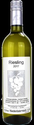Rheinriesling Ried Herrnberg  2017 / Stadler