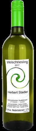 Welschriesling Ried Hochfeld 2017 / Stadler