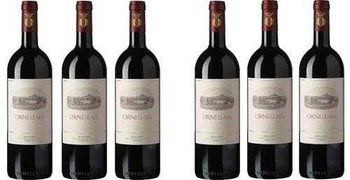 Ornellaia 2014 im 6er Holzkarton zu je € 166.60   / Tenuta dell'Ornellaia
