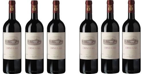 Ornellaia 2012 im 6er Paket zu je € 179.90   / Tenuta dell'Ornellaia