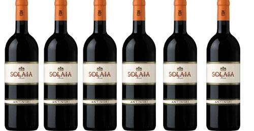 Solaia Toscana IGT 2012 im 6er Vorteilskarton   / Marchesi Antinori