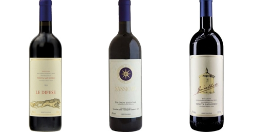 Sassicaia 2017 im Weinpaket mit Le Difese 2018 und Guidalberto 2018   / Tenuta San Guido