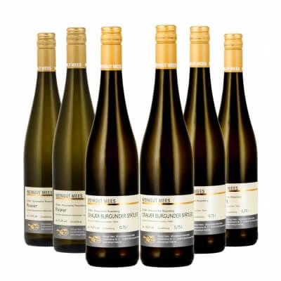 Probierpaket Weißwein säurearm   / Mees