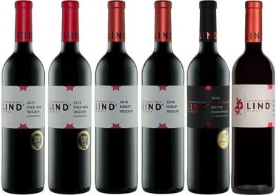 Rotweine von fruchtig bis kräftig   / Weingut Ökonomierat Lind