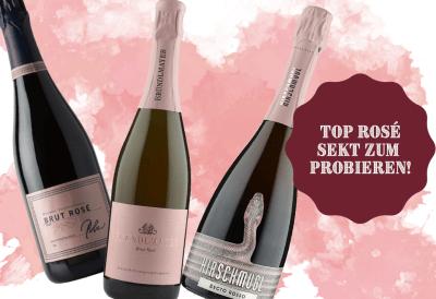 Top Rosé Sekt zum Probieren   / WeinGrube