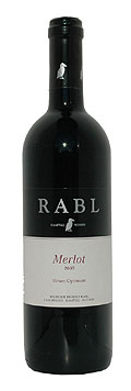 Merlot Vinum Optimum 2012 / Rudolf Rabl