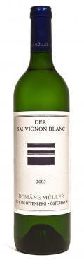 Sauvignon Blanc der 2009 / Domäne Müller
