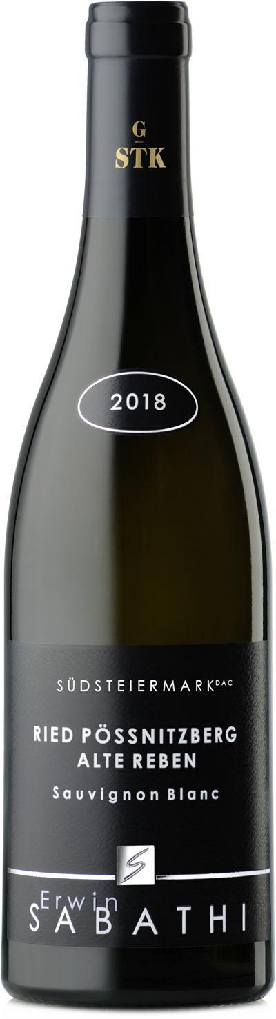Sauvignon Blanc Ried Pössnitzberg Alte Reben Große STK 2018 / Sabathi Erwin