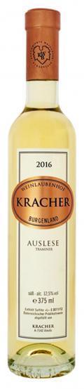 Traminer Auslese 2016 / Kracher