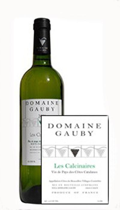 Les Calcinaires  Blanc 2016 / Domaine Gauby