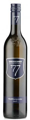Weißburgunder Classic 2017 / Dreisiebner
