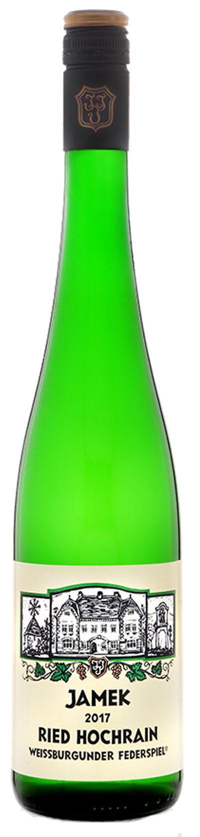 Weißburgunder Smaragd Hochrain 2017 / Jamek
